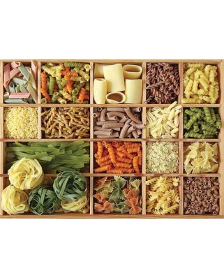 Puzzle Gold Puzzle - Pasta Collection, 1.000 piese (Gold-Puzzle-61390)