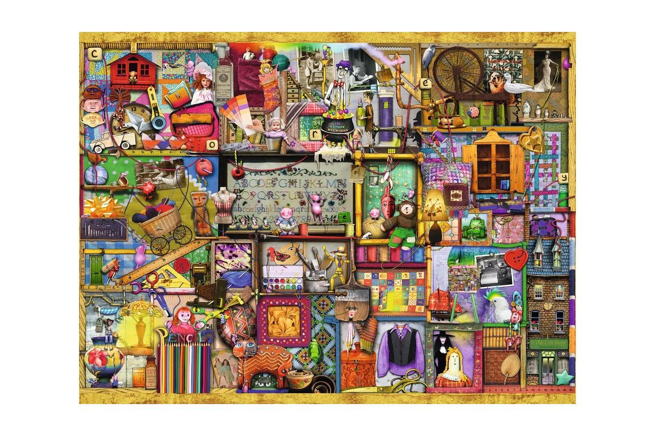 Puzzle Ravensburger - Colin Thompson: Artizanat, 1500 piese (16312)