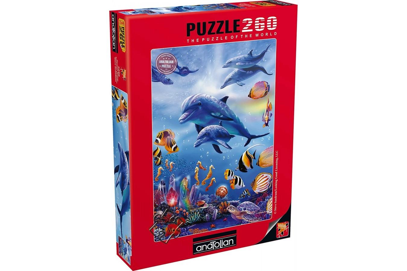 Puzzle Anatolian - Seahorse Kingdom, 260 piese (3298)