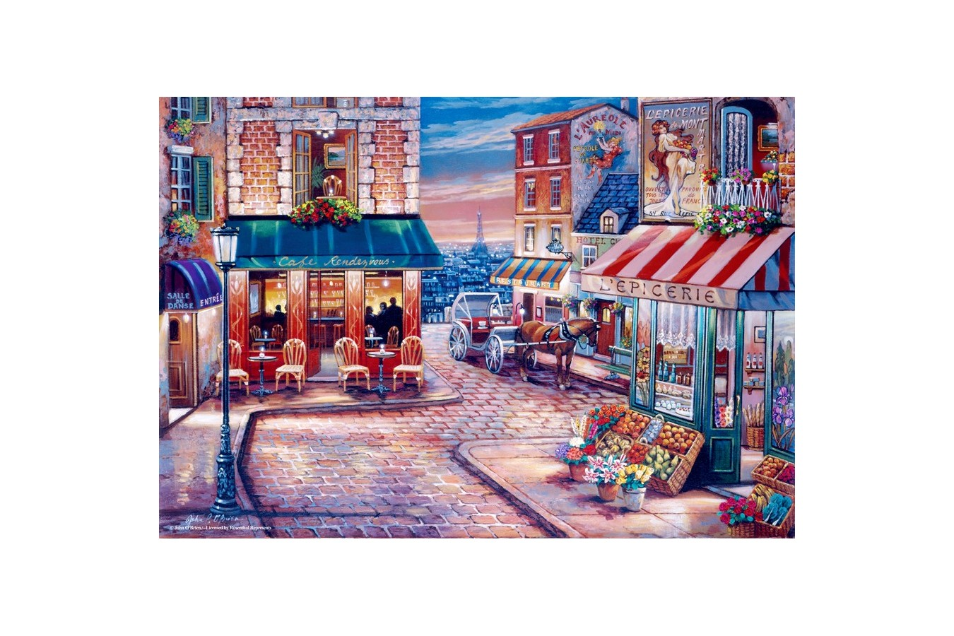 Puzzle Anatolian - Cafe Rendezvous, 500 piese (3523)