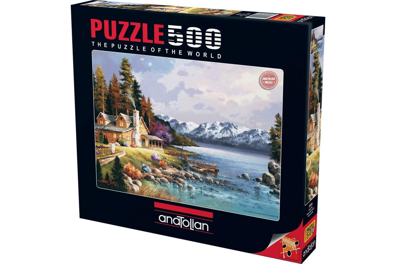 Puzzle Anatolian - Mountain Cabin, 500 piese (3534)