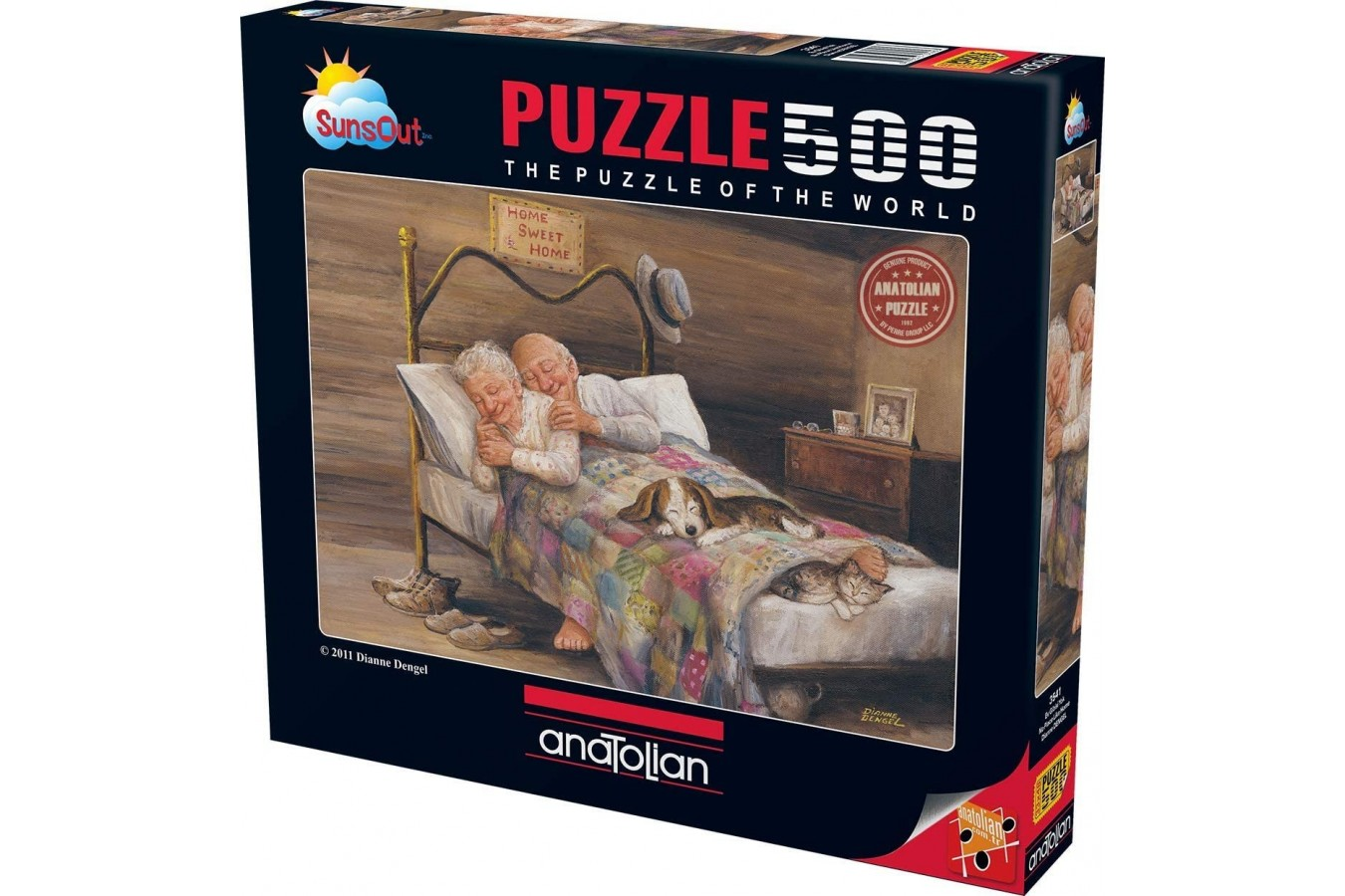 Puzzle Anatolian - No Place Like Home, 500 piese (3541)