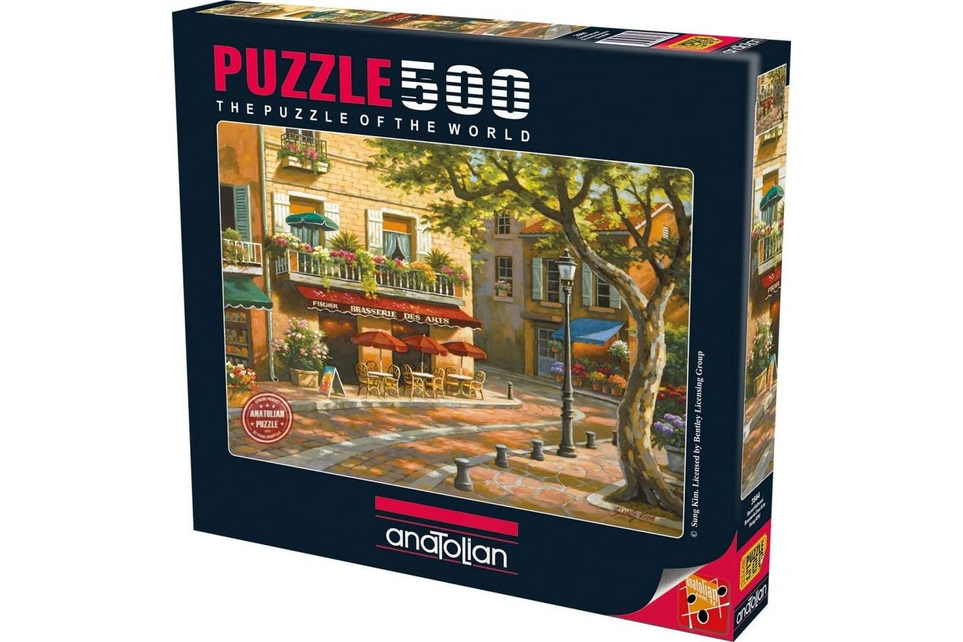 Puzzle Anatolian - Brasserie des Arts, 500 piese (3564)