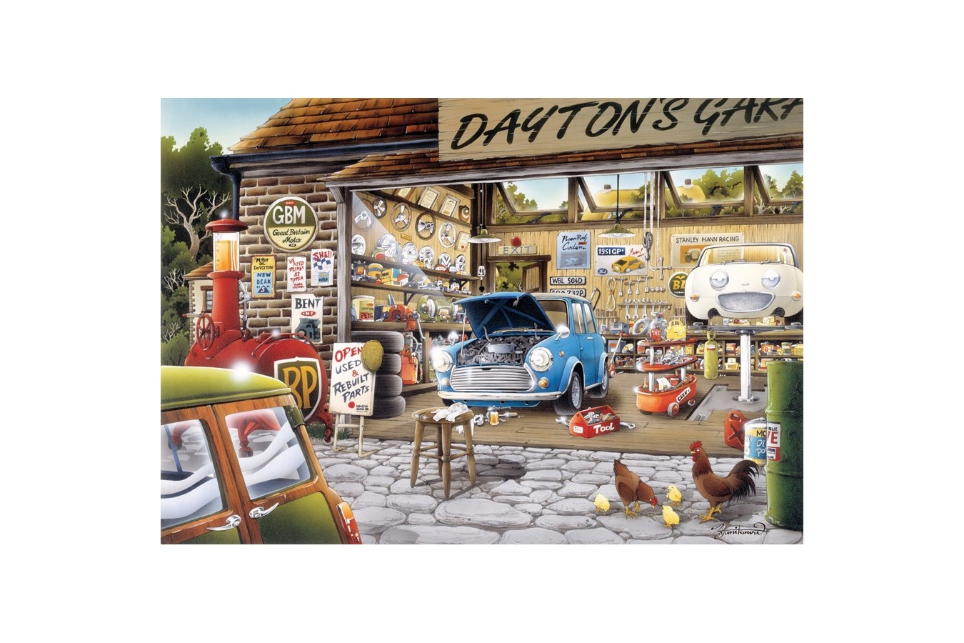 Puzzle Anatolian - Dayton's Garage, 500 piese (3571)