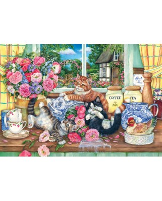 Puzzle Anatolian - Kittens in the Kitchen, 500 piese (3574)