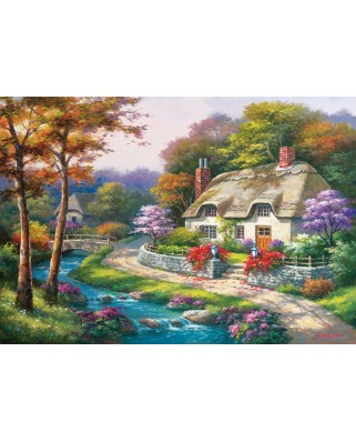 Puzzle Anatolian - Spring Cottage, 500 piese (3577)