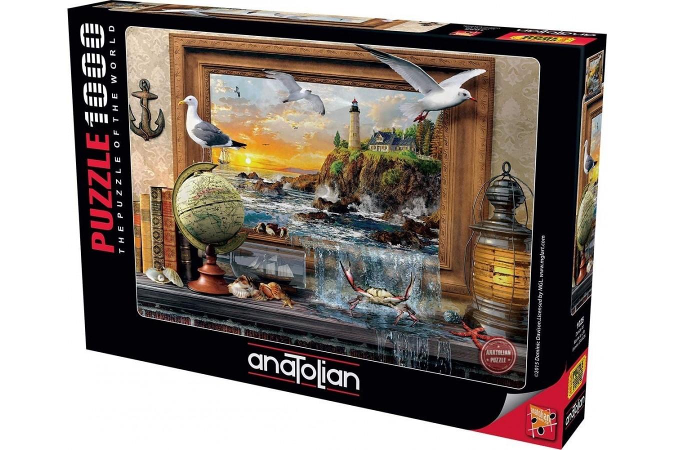 Puzzle Anatolian - Marine To Life, 1000 piese (1025)