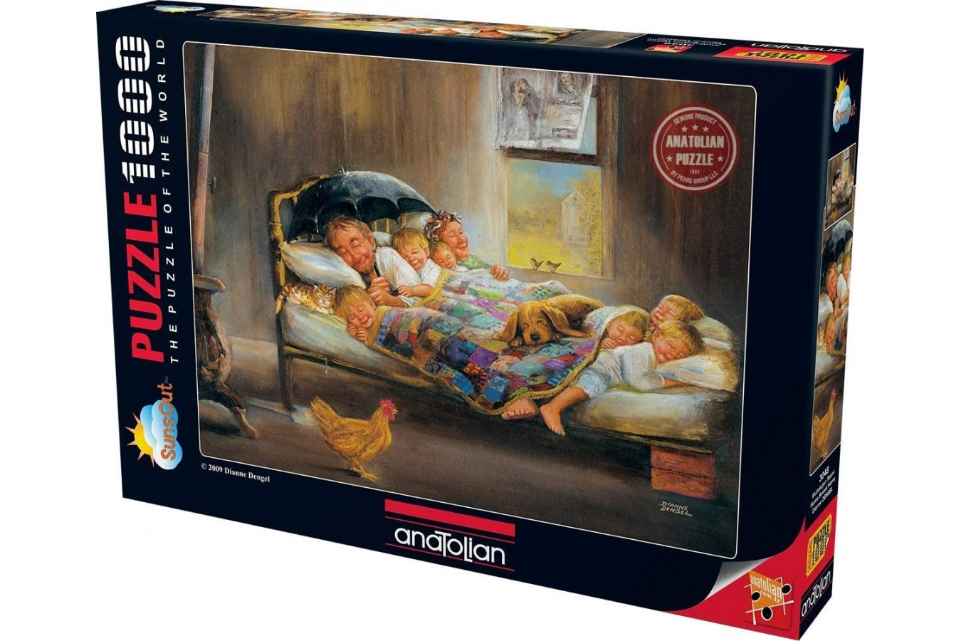 Puzzle Anatolian - Home Sweet Home, 1000 piese (3048)