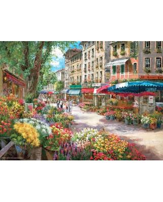 Puzzle Anatolian - Paris Flower Market, 1000 piese (3106)