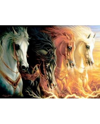 Puzzle Anatolian - Four Horses Of Apocalypse, 1000 piese (3116)