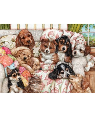Puzzle Anatolian - Puppies, 1000 piese (3162)