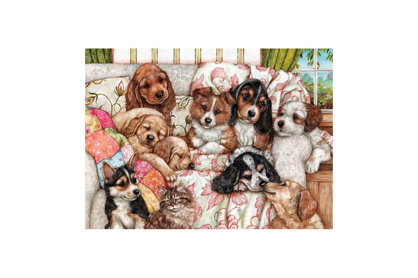 Puzzle Anatolian - Puppies, 1000 piese (3162)
