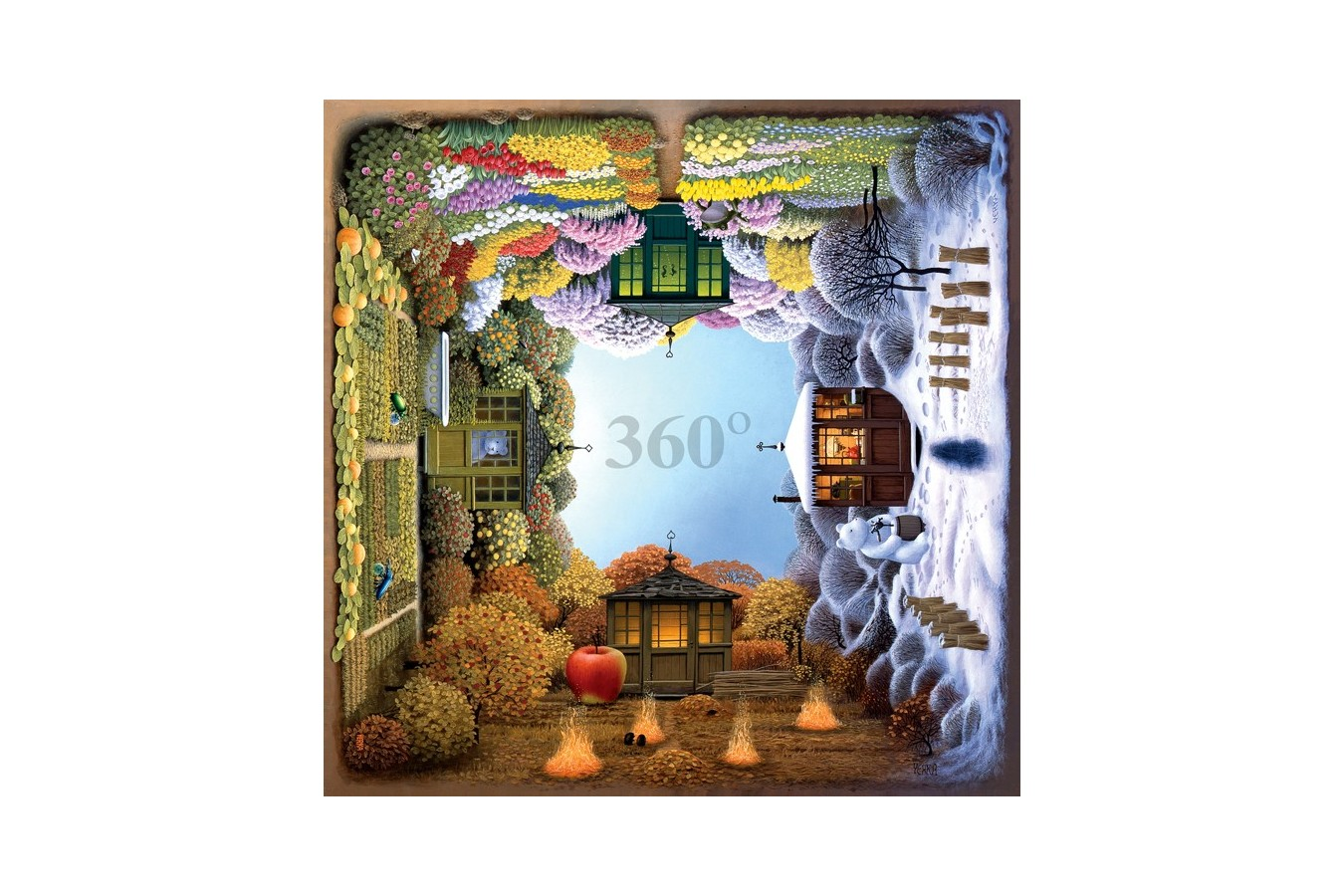 Puzzle Anatolian - Four Seasons, 1024 piese (1012)