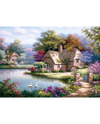Puzzle Anatolian - The Swan Cottage, 1500 piese (4529)