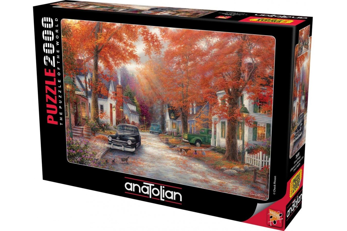 Puzzle Anatolian - A Moment On Memory Line, 2000 piese (3930)