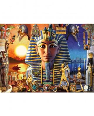 Puzzle Ravensburger - Faraon, 300 piese XXL (12953)