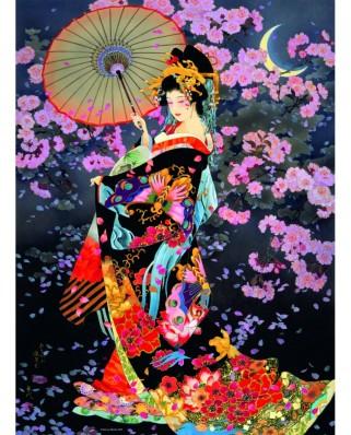 Puzzle Ravensburger - Haruyo Morita: Femeie Din Japonia, 500 piese (16773)