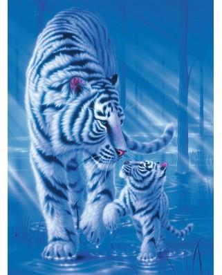 Puzzle Ravensburger - Tigri, 1.500 piese (16382)