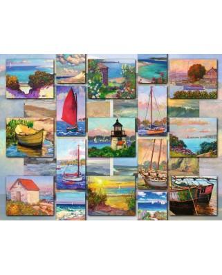 Puzzle Ravensburger - Poze Pe Coasta, 1500 piese (16820)