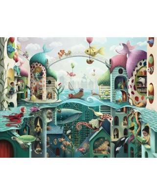 Puzzle Ravensburger - Aventura Pestilor, 2.000 piese (16823)