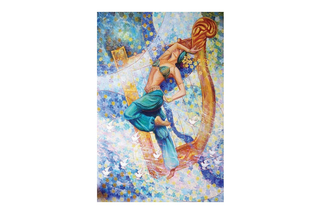 Puzzle Gold Puzzle - Sheherazade, 1500 piese (Gold-Puzzle-61048)