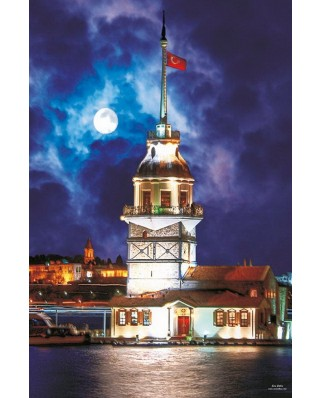 Puzzle Gold Puzzle - Maiden's Tower, 1.000 piese (Gold-Puzzle-60126)