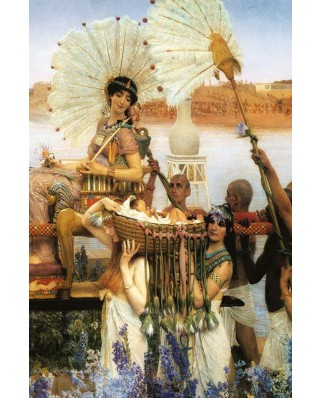 Puzzle Gold Puzzle - Sir Lawrence Alma-Tadema: The Finding of Moses, 1000 piese (Gold-Puzzle-60409)