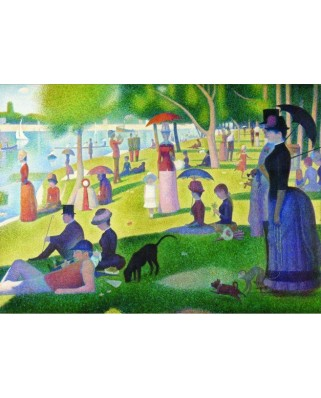 Puzzle Gold Puzzle - Georges Seurat: A Sunday Afternoon on the Island of La Grande Jatte, 1000 piese (Gold-Puzzle-60799)