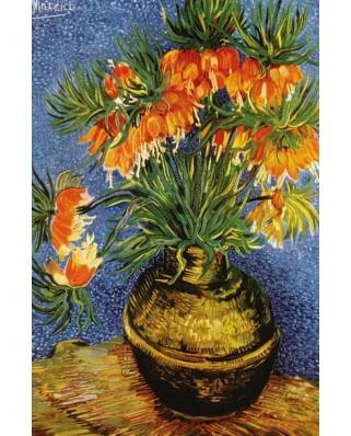 Puzzle Gold Puzzle - Vincent Van Gogh: Fritillaires in a Copper Vase, 1000 piese (Gold-Puzzle-60911)