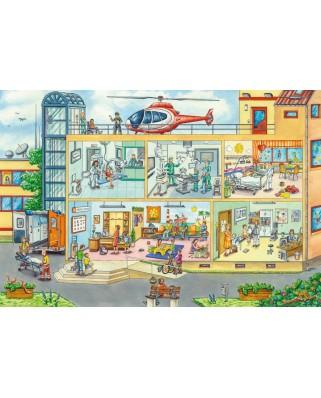 Puzzle Schmidt - In Spitalul Pentru Copii, 40 piese (56374)