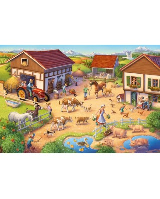 Puzzle Schmidt - Ferma, 40 piese (56379)