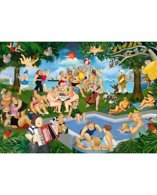 Puzzle Schmidt - Beryl Cook: Petrecere De Vara, 1000 piese (59687)