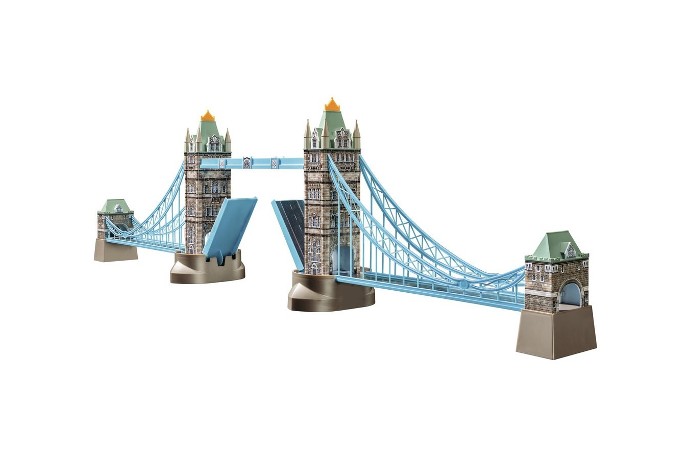 Puzzle 3D Ravensburger - Tower Bridge, 216 piese (12559)