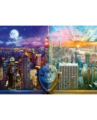 Puzzle Schmidt - Lars Stewart: Night And Day: New York, 1.000 piese (59905)