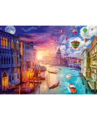 Puzzle Schmidt - Lars Stewart: Night And Day: Venetia, 1.000 piese (59906)