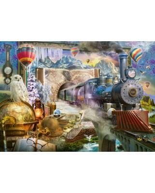 Puzzle Schmidt - Calatorie Magica, 1000 piese (58964)