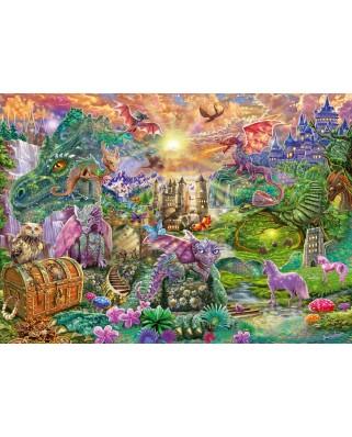 Puzzle Schmidt - Taramul Dragonului Fermecat, 1.000 piese (58966)