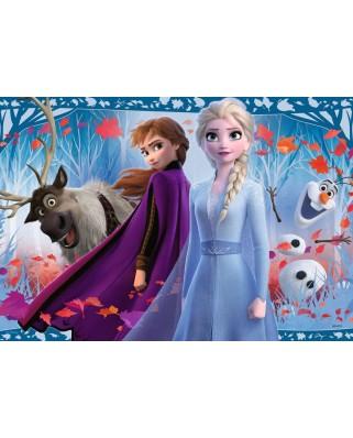 Puzzle Ravensburger - Frozen Ii, 2x12 piese (05009)