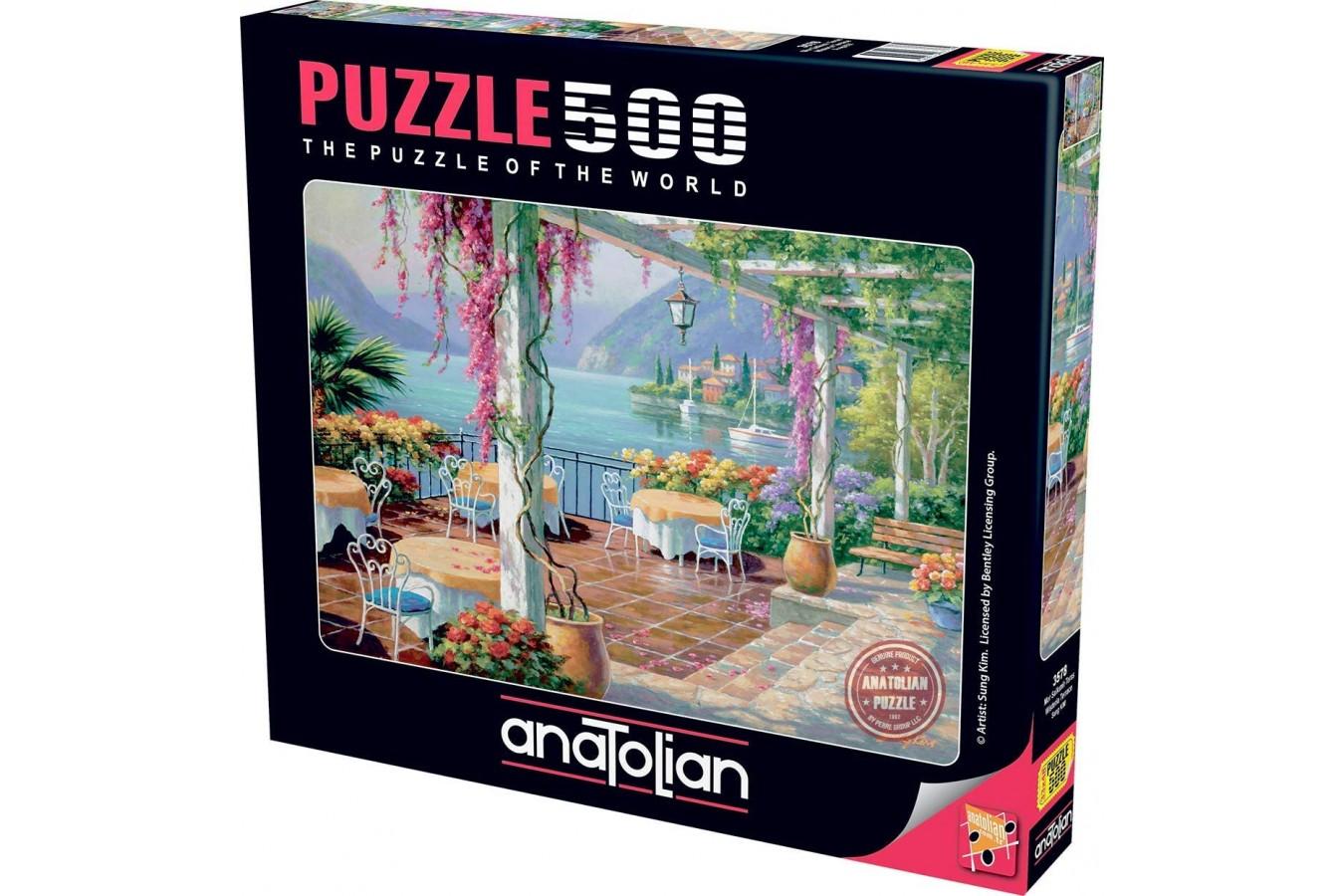 Puzzle Anatolian - Wisteria Terrace, 500 piese (3578)