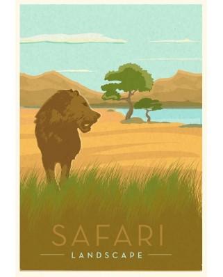 Puzzle Ravensburger - Safari, 99 piese (16540)