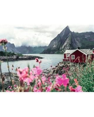 Puzzle Ravensburger - Lofoten Norvegia, 1.000 piese (16740)