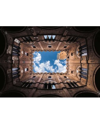 Puzzle Ravensburger - Cortile Del Podesta, 1000 piese (16780)