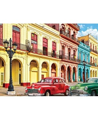 Puzzle Eurographics - La Havana Cuba, 1000 piese (6000-5516)