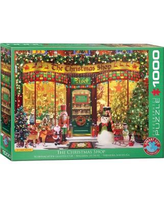 Puzzle Eurographics - Garry Walton: The Christmas Shop, 1000 piese (6000-5521)
