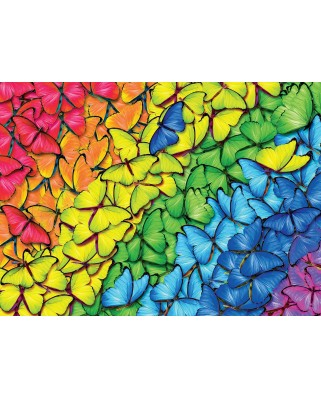 Puzzle Eurographics - Butterfly Rainbow, 1000 piese (6000-5603)