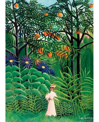 Puzzle Eurographics - Henri Rousseau: Women in an Exotic Forest, 1000 piese (6000-5608)