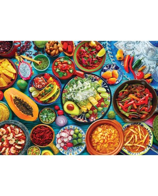 Puzzle Eurographics - Mexican Table, 1000 piese (6000-5616)