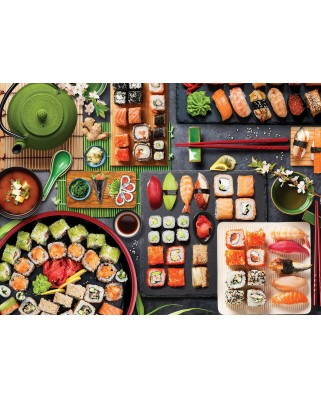 Puzzle Eurographics - Sushi Table, 1000 piese (6000-5618)