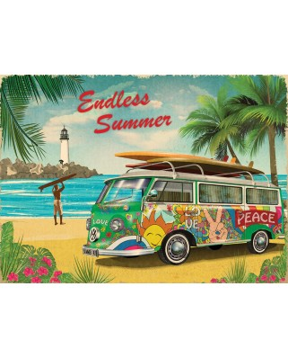 Puzzle Eurographics - VW Endless Summer, 1000 piese (6000-5619)
