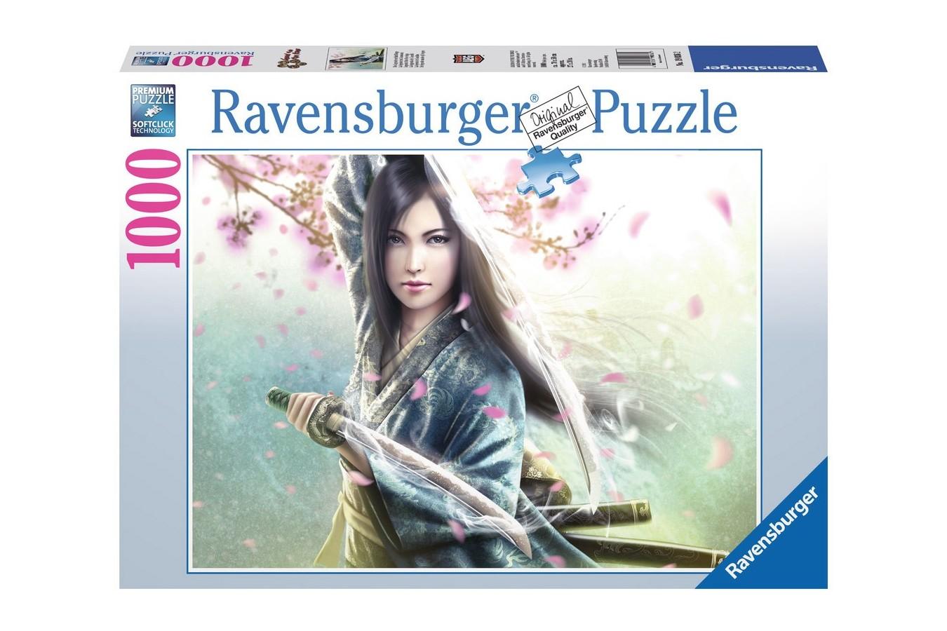 Puzzle Ravensburger - Legenda Celor 5 Inele, 1.000 piese (19036)
